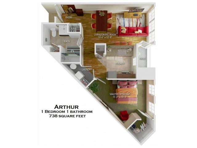 Arthur floorplan