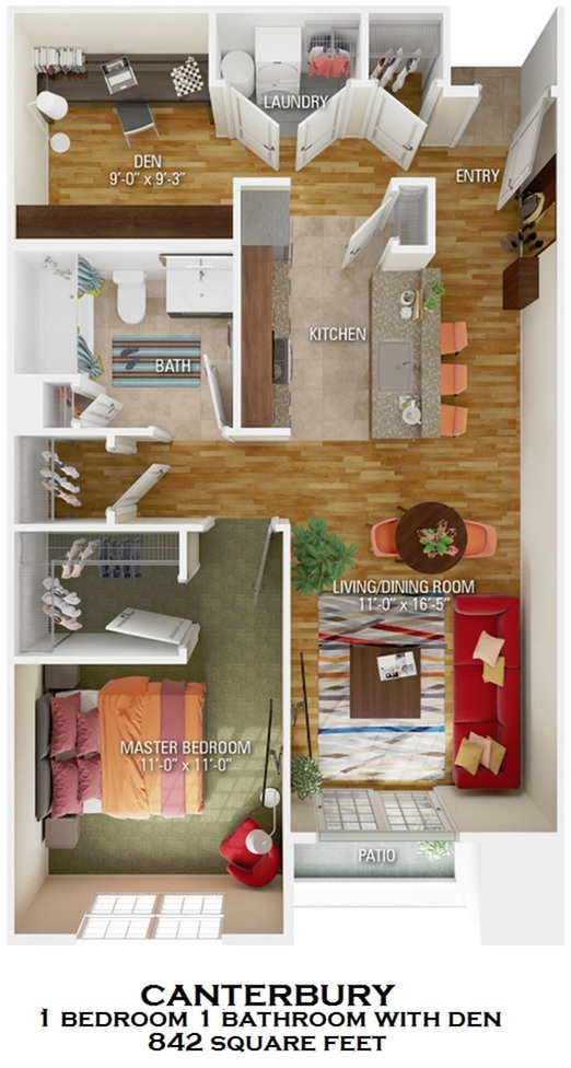 Canterbury floorplan