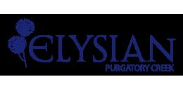 Elysian at Purgatory Creek apartments logo