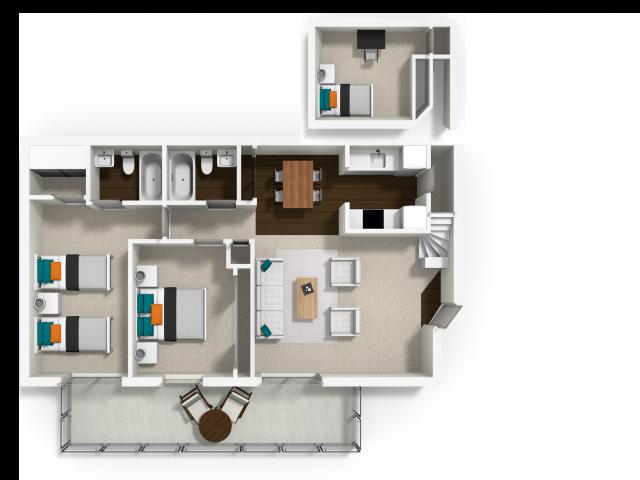 2x2 with Loft