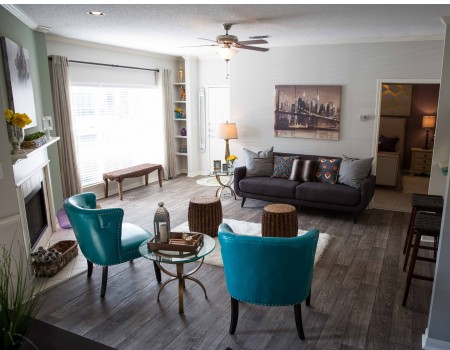 Come tour our Newly Renovated Apartments, complete with Hardwood Plank flooring and Wood-Burning Fireplaces!