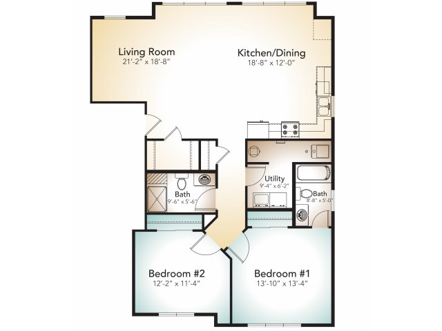 allfloor plans2 bedroom on 2nd floor - Second Floor Floor Plans 2