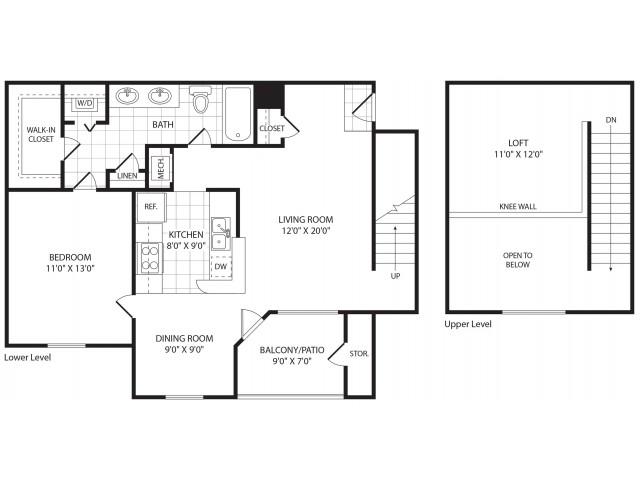 Mission Millbrook Apartments Floor Plans: Mission Matthews Place