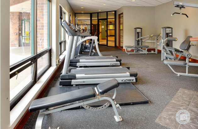 Fitness Center at Baltimore Apartments near The John Hopkins Hospital