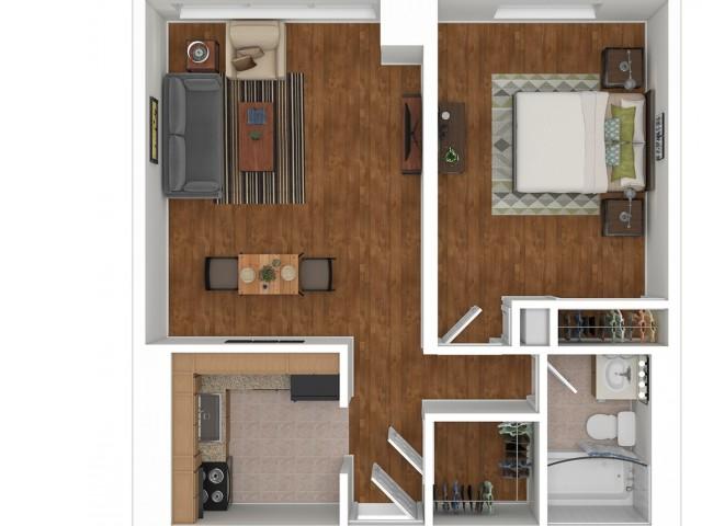 611 One Bedroom