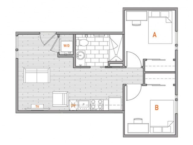2x1 Terrace