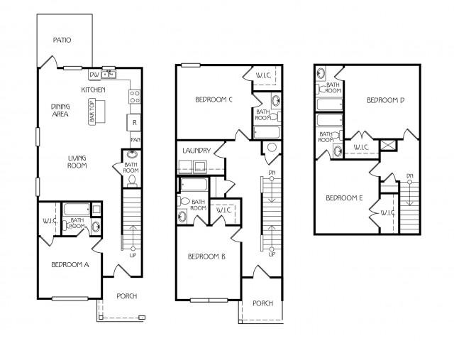 Floor Plan 27 | The Retreat at Starkville