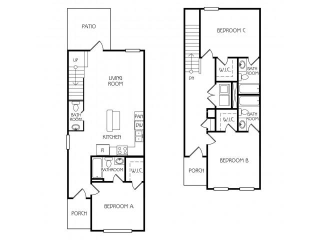 Floor Plan 28 | The Retreat at Starkville