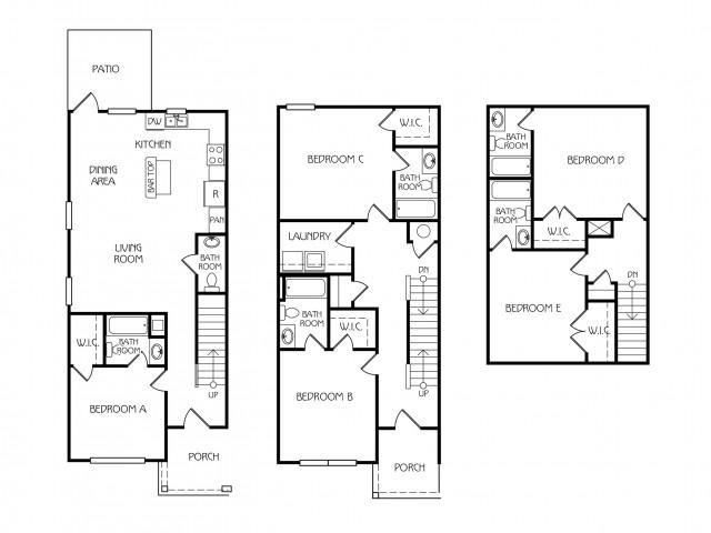Floor Plan 26 | The Retreat at Starkville