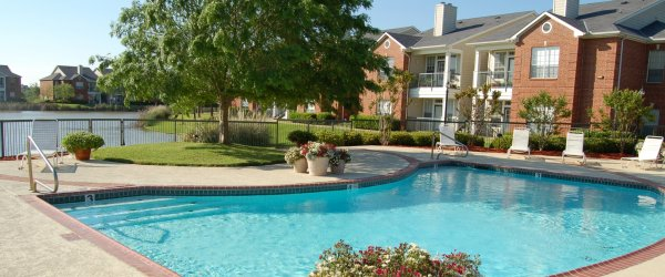 Champion Lake Apartments for rent in Shreveport Resort Pool Photo