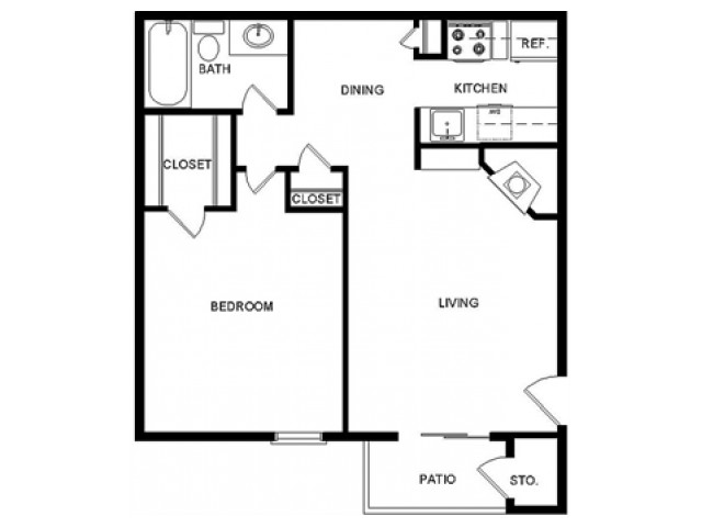 Floor Plan B65
