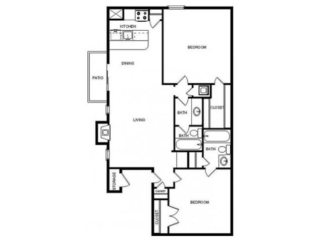 Floor plan F65