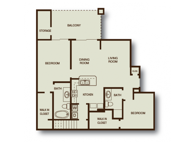 2 Bed 2 Bath Apartment In Albuquerque Nm Las Mananitas