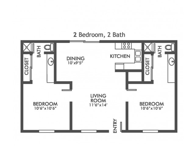 Velocity at Montecito - 2-Bedroom