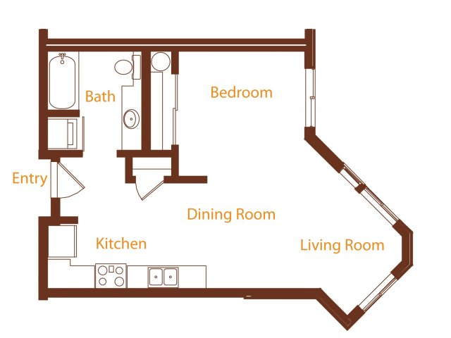 Floor Plan 4 | Harrington Square