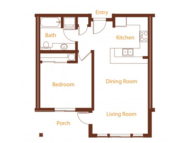 Floor Plan 9 | Harrington Square