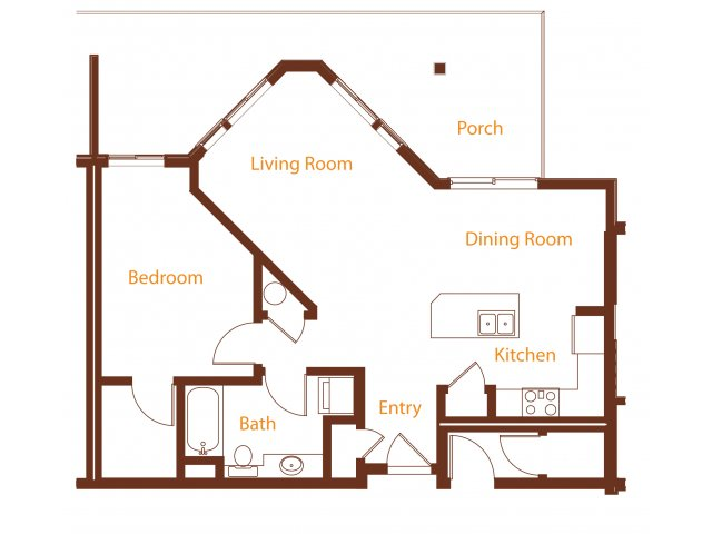Floor Plan 12 | Harrington Square