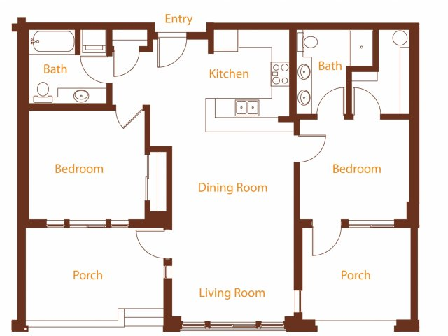 Floor Plan 18 | Harrington Square