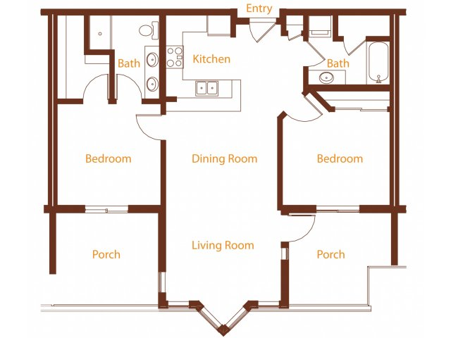Floor Plan 21 | Harrington Square