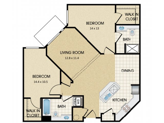 Floor Plan 23 | Harrington Square