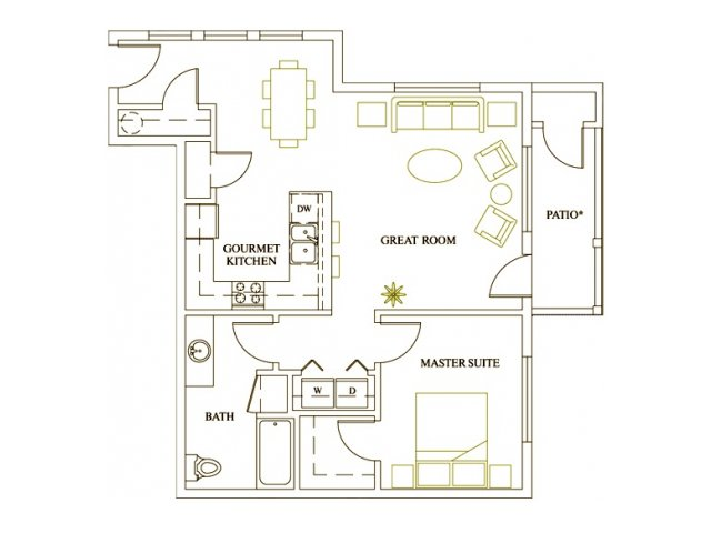 Floor Plan 2 | Deveraux Glen
