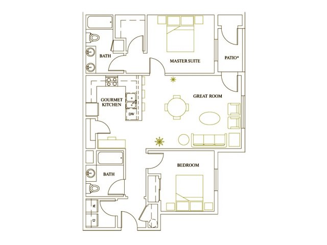 Floor Plan 4 | Deveraux Glen