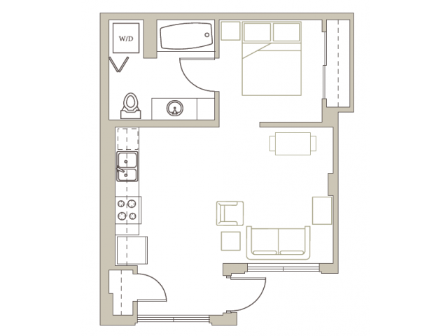 Floor Plan 70 | Riva on the Park