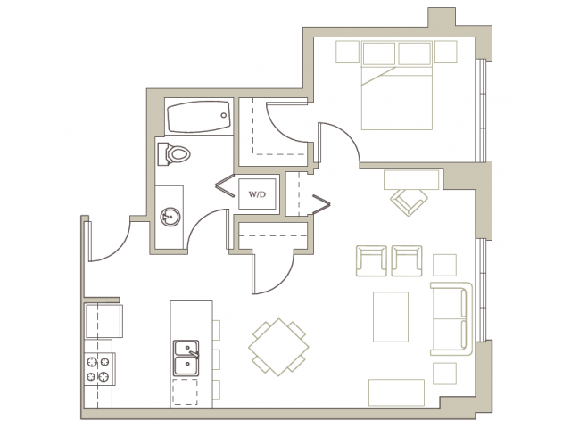 Floor Plan 114 | Riva on the Park