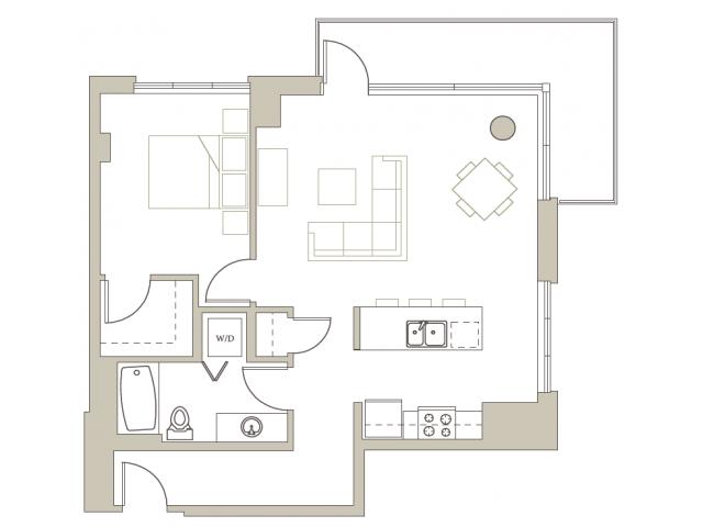 Floor Plan 102 | Riva on the Park