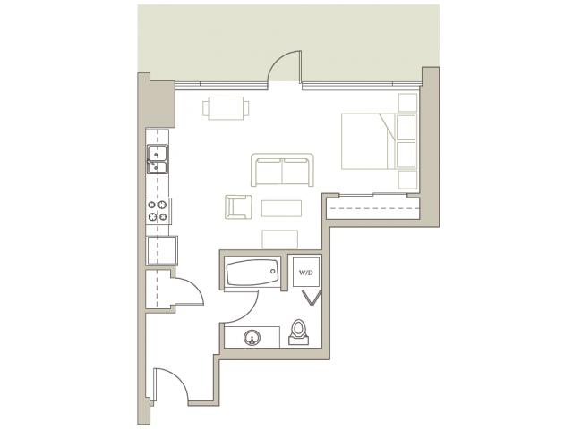 Floor Plan 108 | Riva on the Park