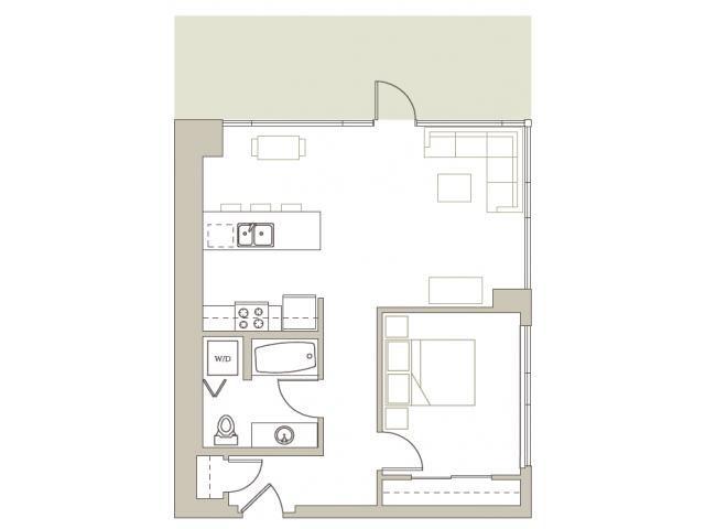 Floor Plan 111 | Riva on the Park