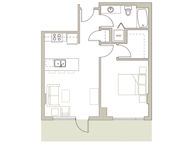 Floor Plan 13 | Riva on the Park