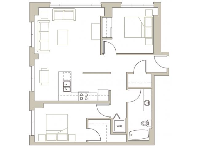Floor Plan 77 | Riva on the Park