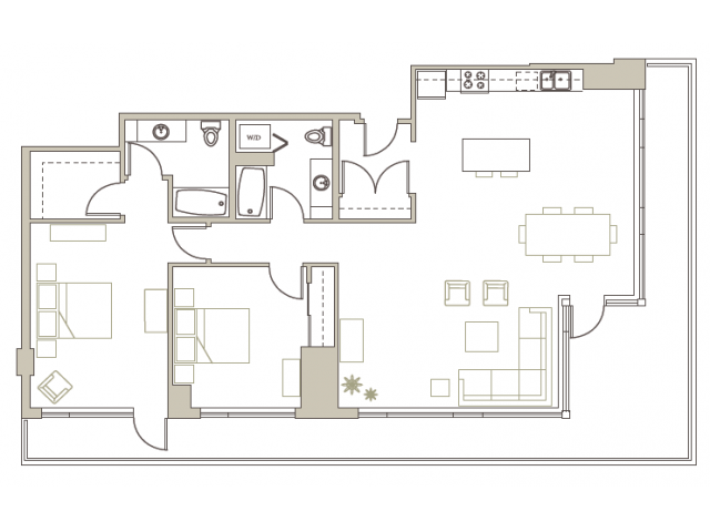 Floor Plan 86 | Riva on the Park