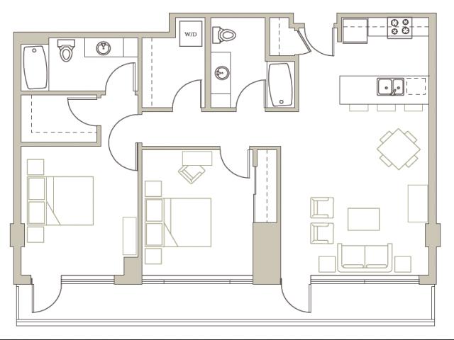 Floor Plan 89 | Riva on the Park