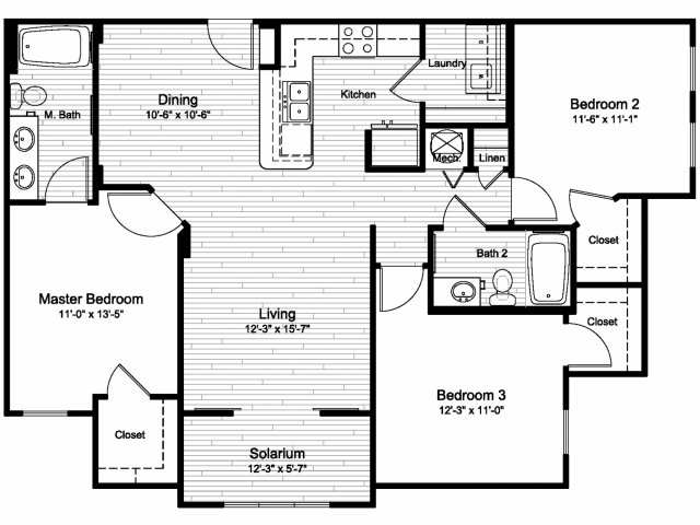 Floor Plan 3 | Windermere Cay