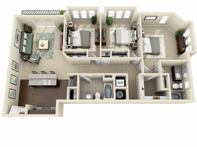 Three Bedroom   927 West Morgan