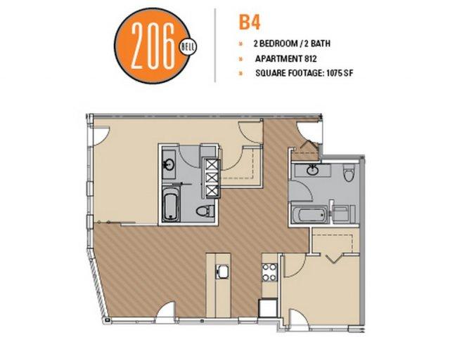 Floor Plan 1 | 206 Bell