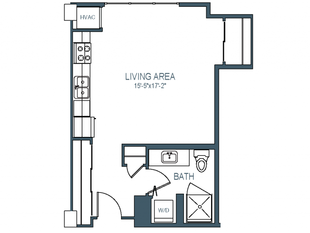 Floorplan 2 | Asa FlatsLofts