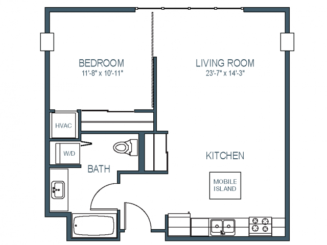 Floorplan 5 | Asa FlatsLofts