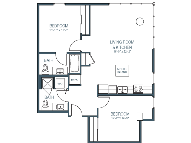 Floorplan 8 | Asa FlatsLofts