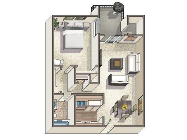Floor Plan 2 | Lakeview Towers at Belmar