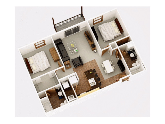 Floor Plan 2 | Timber Trails 2