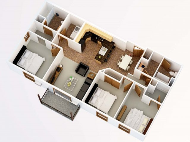Floor Plan 3 | Timber Trails 2