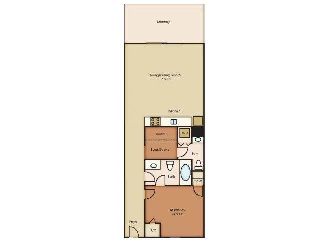 Floorplan 1 | 79 West