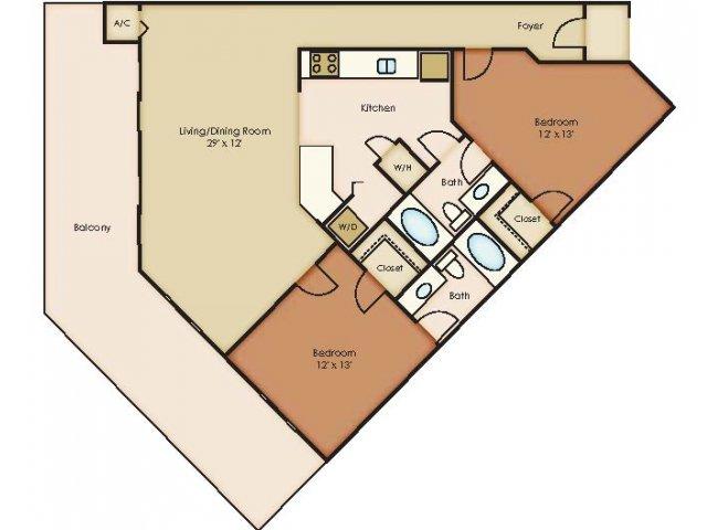 Floorplan 2 | 79 West