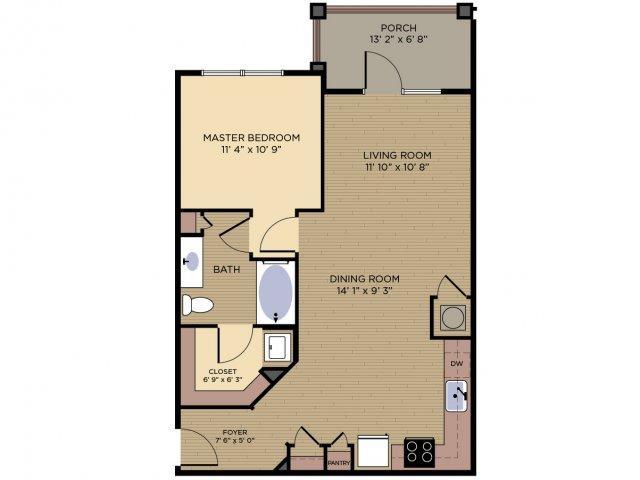 Floor Plan 1 | Alexander Village