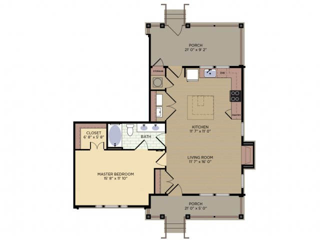 Floor Plan 4 | Alexander Village