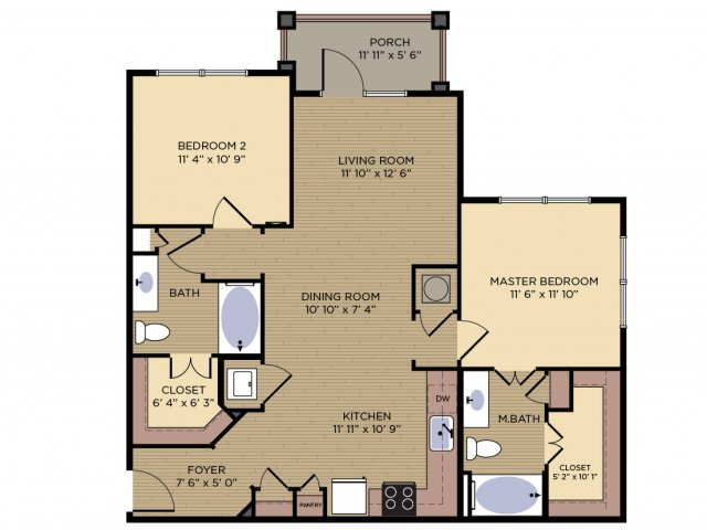 Floor Plan 5 | Alexander Village