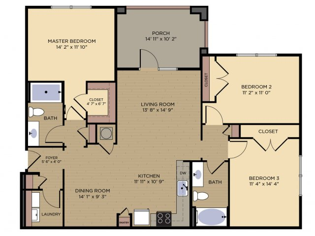 Floor Plan 8 | Alexander Village